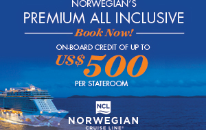 Norwegian Cruise Line On Board Credit promotion