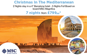 Christmas in the Med with MSC Cruises